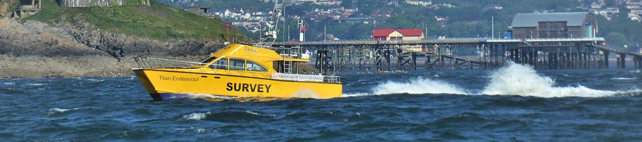 Titan Endeavour Coastal Nearshore Environmental Survey Specialist Vessel