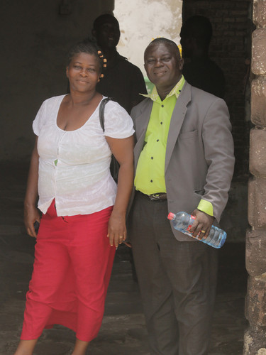 Pastor Daniel and Ansumama