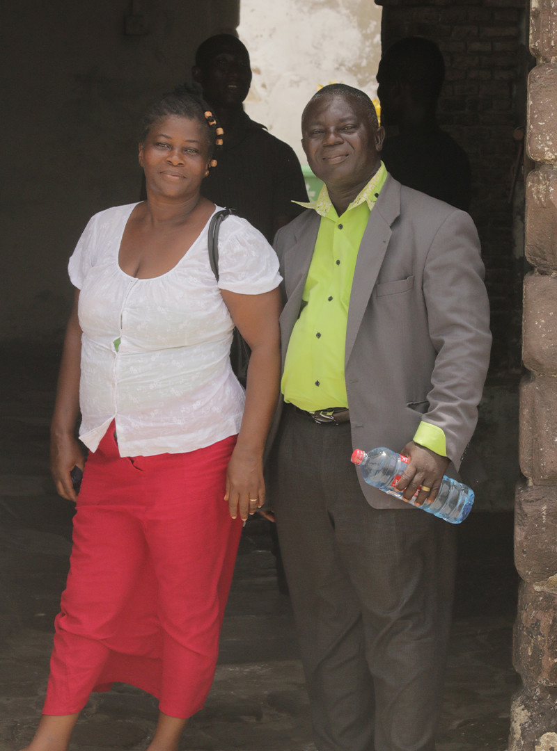 Pastor Daniel and Ansumama
