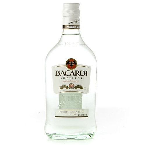 Bacardi Carta Blanca 375ml