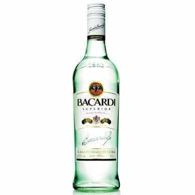 Bacardi Carta Blanca 680ml