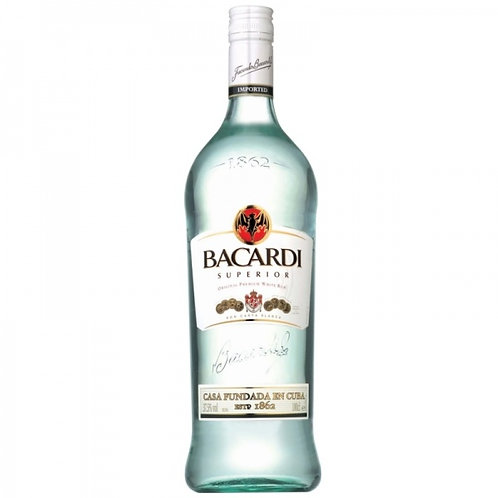 Bacardi Carta Blanca 980ml