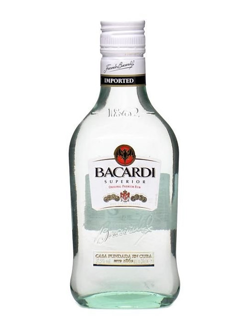 Bacardi Carta Blanca 200ml