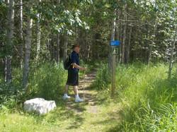 braggcreek hiking old guy