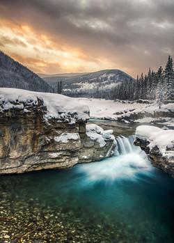 a elbow falls bragg creek