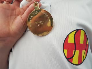 Northumberland win 9U County Cup