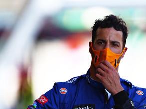 Da ascensão à queda: a montanha russa de Daniel Ricciardo em Baku