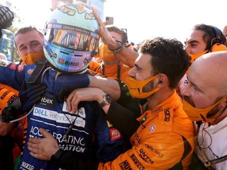 Após ganhar aposta com Zak Brown, Ricciardo se prepara para dirigir o NASCAR Chevrolet de Earnhardt