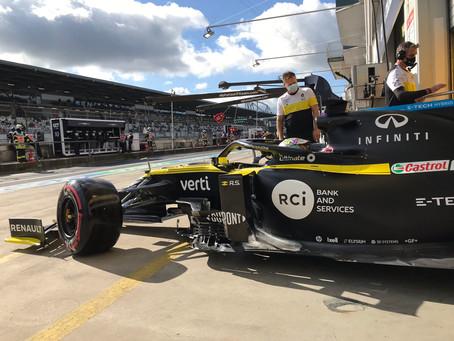 Eifel GP: Mesmo sem a sexta de treinos livres, Ricciardo mantém solidez e fecha o TL3 em P8