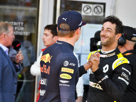Daniel Ricciardo fala sobre largar ao lado de Max Vesrtappen em SPA e mira presença no pódio