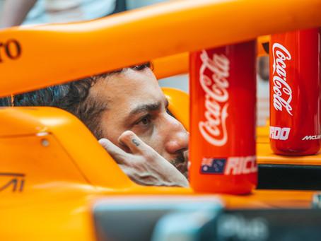 """""""Ainda estou tentando superar isso"""": Ricciardo revela área crucial que ainda não dominou na McLaren"""