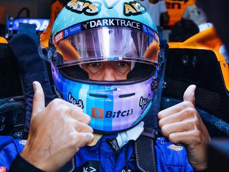 De uma ponta à outra: os extremos de Daniel Ricciardo no primeiro dia de treinos livres na Áustria