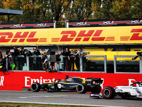 Análise: a estratégia de pneus que garantiu o P3 de Daniel Ricciardo em Ímola