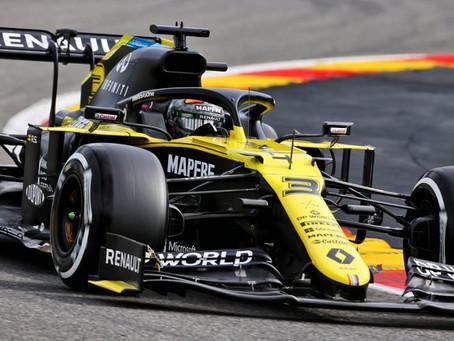 Com perda de pressão hidráulica, Ricciardo deixa o treino mais cedo com o segundo melhor tempo
