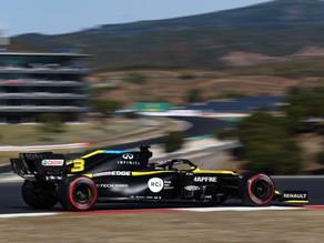 Com problemas na asa traseira, Ricciardo não consegue marcar tempo no Q3 e largará em 10º