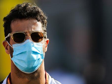"""Ricciardo revela motivação com penalização de 5s em Sochi: """"Acendeu um fogo embaixo da minha bunda"""""""