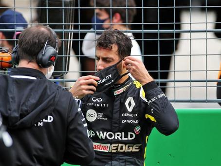 Análise: Ricciardo sofre com aerodinâmica do carro e aderência dos pneus em Portimão