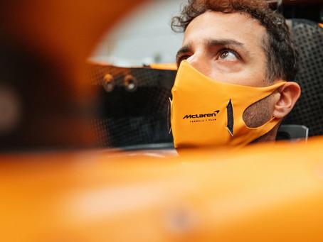 Visita a Woking e ajustes no carro: Os primeiros dias de Daniel Ricciardo como piloto McLaren