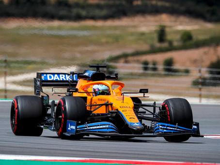 Resumão: Daniel Ricciardo na sexta-feira de treinos livres em Portimão
