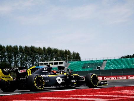 Terceira fila! Usando compostos médios, Daniel Ricciardo largará em P5 no GP de 70 anos da F1
