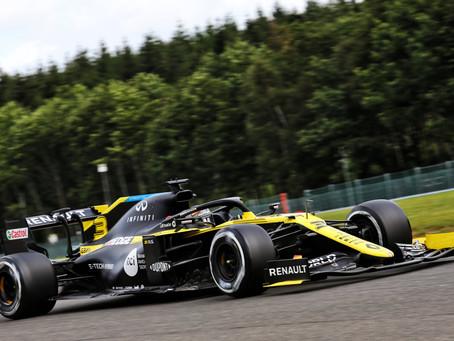 GP da Bélgica: Daniel Ricciardo larga em P4 no circuito de Spa-Francorchamps