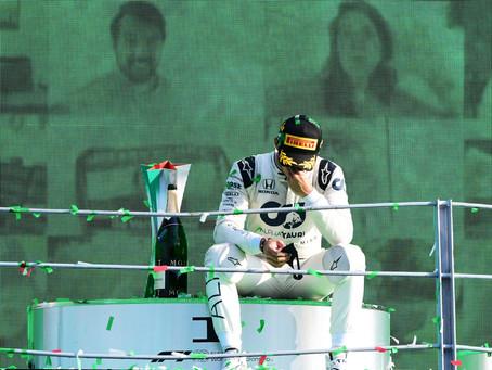GP de Monza - O segundo passo da redenção de Pierre Gasly