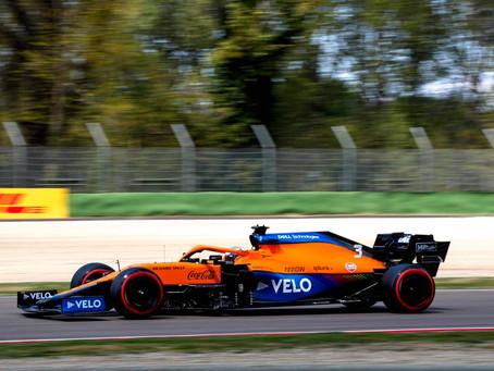 Ricciardo tira coelho da cartola no Q3 e inicia o Grande Prêmio de Ímola em sexto lugar