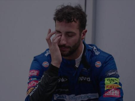 Da esperança à tristeza: o sábado duro de Daniel Ricciardo em Portimão