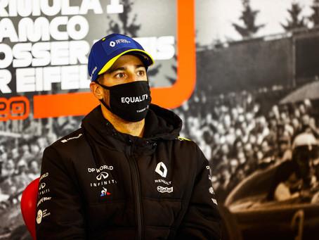 "Ricciardo exalta luta de Hamilton contra o racismo: ""Nunca percebi que todo paddock era branco"""