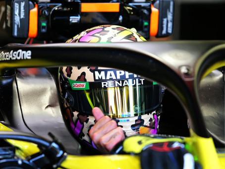 """Daniel Ricciardo estabelece lembrete para GP da Toscana: """"Vou me lembrar de respirar"""""""