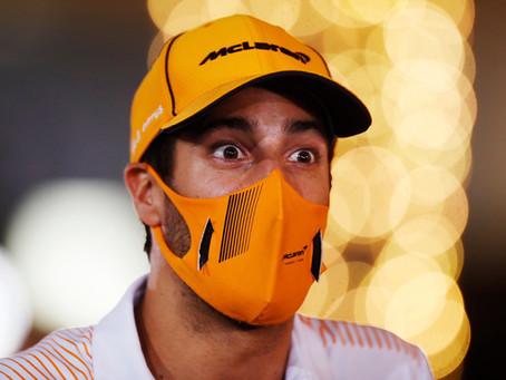 Quali: Com susto no Q2, Ricciardo bate Lando Norris e larga da sexta posição no Bahrein