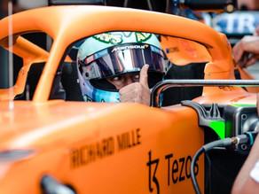 A primeira de três: a sexta de Daniel Ricciardo na França
