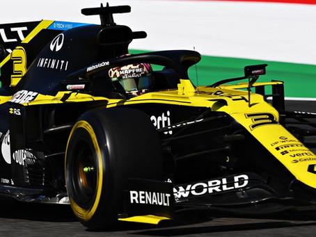 GP da Toscana: Daniel Ricciardo tem volta comprometida pelo companheiro de equipe e largará em P8