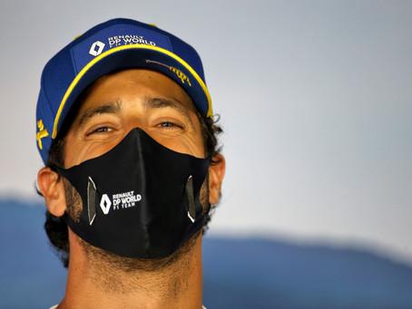 O aço interno por trás do sorriso de Ricciardo e porque a McLaren o queria