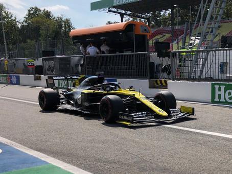Com pódio surpreendente em Monza, Daniel Ricciardo faz corrida sólida e finaliza em P6