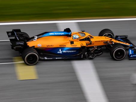 """McLaren pede desculpas a Ricciardo após """"problema de controle"""" do GP da Estíria"""