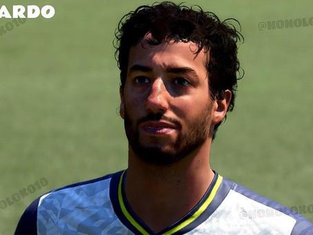 Daniel Ricciardo integra time de celebridades no modo VOLTA do FIFA 21, apontam rumores