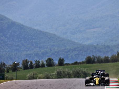 Treino livre 2: Daniel Ricciardo crava quinto melhor tempo no GP da Toscana