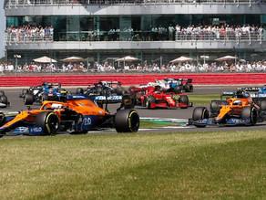 McLaren 'muito feliz' com o progresso de Ricciardo em Silverstone