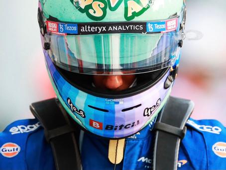 """Frustrado, Ricciardo quer transformar raiva em motivação: """"É por isso que me chamo de Honey Badger"""""""