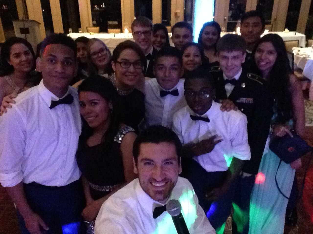Military Ball Selfie