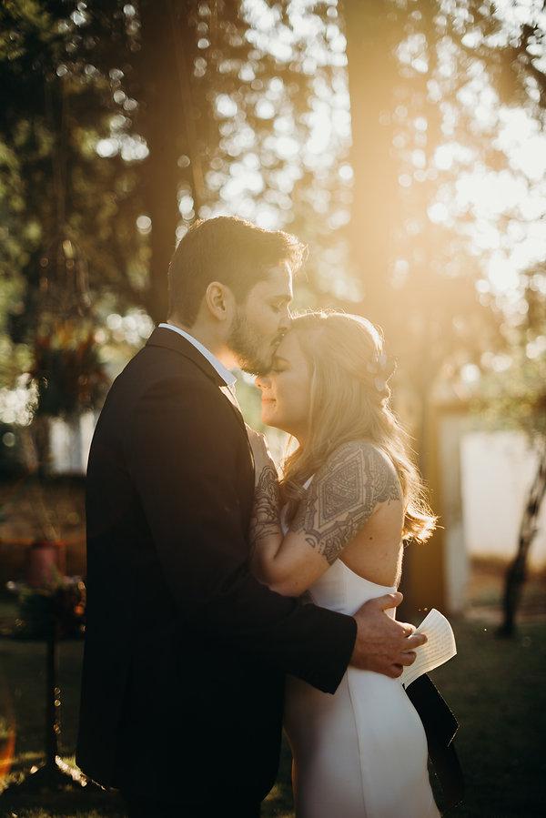 Intimate Wedding  Rock Autentico Fazenda