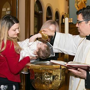 Ariana's Baptism