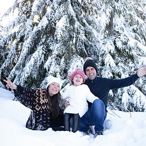 Nina's Snow Session