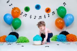 Noah's Cake Smash-27