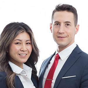 Jennie & David Headshots