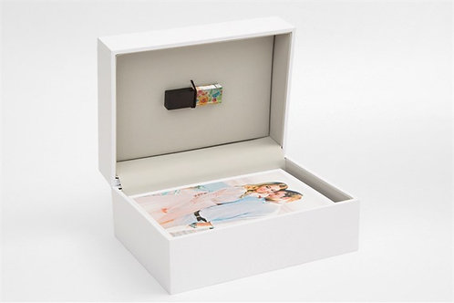 Personalized Photo Box w/ USB
