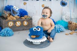 Daniel's Cake Smash-13