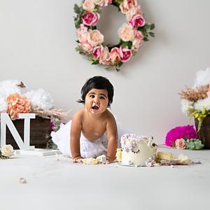 Rhea's Cake Smash