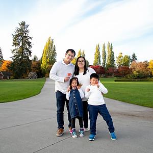 Chen's Autumn Family Session